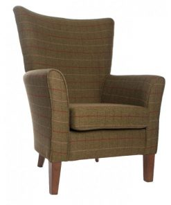 Amanda high back chair in Panaz Berwick