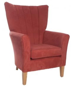 Claudia Lounge chair, www.homecarechairs.co.uk , high seat chairs, Fireside Chairs, high back chairs, wingback chair, elderly chairs.