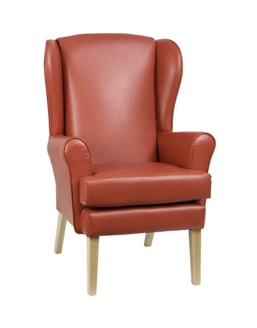 Alisson Orthopedic high seat chair, www.homecarechairs.co.uk , high seat chairs, Fireside Chairs, high back chairs, wingback chair, elderly chairs.