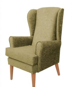 Panaz Darcy Gold, www.homecarechairs.co.uk , high seat chairs, Fireside Chairs, high back chairs, wingback chair, elderly chairs.