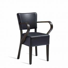 CLUB-Arm-Chair-ZA.396C-Wenge-Black