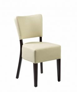 Club side chair | Dining chairs | Faux leather