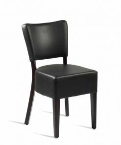 CLUB-Side-Chair-ZA.395C-Wenge-Black, www.homecarechairs.co.uk , high seat chairs, Fireside Chairs, high back chairs, wingback chair, elderly chairs.