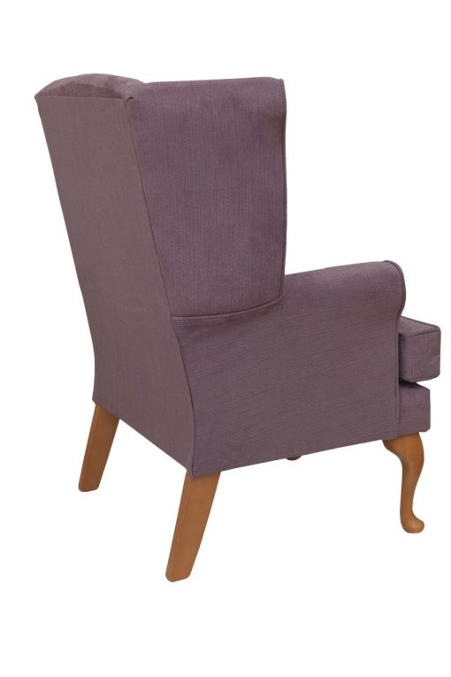 Luxury Calder high seat chair in Ilive Bolsana Fabric, www.homecarechairs.co.uk , high seat chairs, Fireside Chairs, high back chairs, wingback chair, elderly chairs.