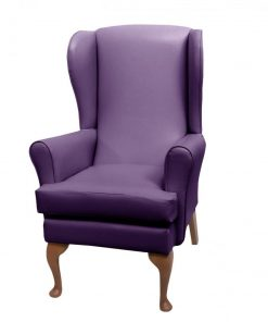 lc08 vinyl 2, www.homecarechairs.co.uk , high seat chairs, Fireside Chairs, high back chairs, wingback chair, elderly chairs.
