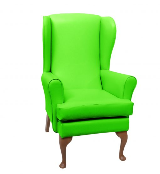 lc08 vinyl, www.homecarechairs.co.uk , high seat chairs, Fireside Chairs, high back chairs, wingback chair, elderly chairs.