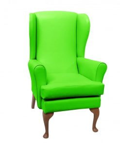 lc08 vinyl, www.homecarechairs.co.uk , high seat chairs, Fireside Chairs, high back chairs, wingback chair, elderly chairs.