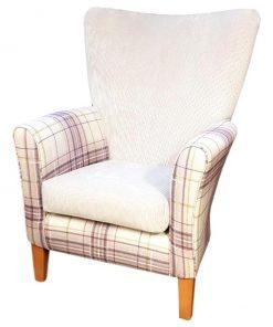 High Back Chair with A Sunbury Farringdon Inner and Panaz Oscar Outer
