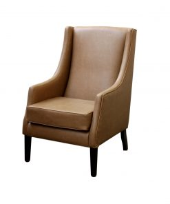 High seat high back chair